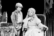 GREAT EXPECTATIONS by Charles Dickens adapted for the stage and directed by Peter Coe design: Peter Rice lighting: Mark Henderson   Anthony Pearson (Young Pip), Sheila Burrell (Miss Havisham) a Church...