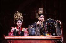 THE KINGDOM OF DESIRE by Lee Huei-min after Shakespeare's 'Macbeth' set design: Deng Kuen-yen & Chang Yi-cheng costumes: Lin Ching-ru lighting: Lin Keh-hua director: Wu Jing-jyi  Macbeth sees ghosts:...