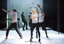 Jane Horrocks in IF YOU KISS ME, KISS ME opening at the The Young Vic, London SE1 on 16/03/2016   conceived by Jane Horrocks & Aletta Collins design: Bunny Christie lighting: Andreas Fuchs directed a...