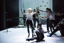 Jane Horrocks in IF YOU KISS ME, KISS ME opening at the The Young Vic, London SE1 on 16/03/2016   conceived by Jane Horrocks & Aletta Collins design: Bunny Christie lighting: Andreas Fuchs directed an...