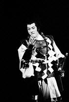 MACBETH   by Shakespeare   set design: Kappa Senoh   costumes: Jusaburo Tsujimura   lighting: Sumio Yoshii   director: Yukio Ninagawa ~Masane Tsukayama (Macbeth) ~Ninagawa Theatre Company, Tokyo,Japan...
