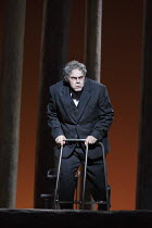 PARSIFAL   by Wagner   conductor: Antonio Pappano   design: Alison Chitty   lighting: Paul Pyant   director: Stephen Langridge   Act 3: Gerald Finley (Amfortas) The Royal Opera (RO) / Covent Garden...