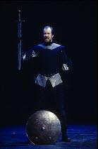 MACBETH   by Shakespeare   design: Bob Crowley   lighting: Jean Kalman   director: Richard Eyre   Alan Howard (Macbeth)  Olivier Theatre / National Theatre (NT), London SE1   01/04/2013    (c) Dona...