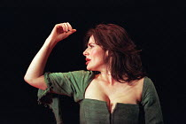 MACBETH by Shakespeare set design: Jeremy Herbert costumes: Laura Hopkins lighting: Rick Fisher director: John Crowley Sally Dexter (Lady Macbeth)Queen's Theatre, London W1  03/03/1999