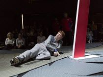 Frankie Fox (Liam) in BOY by Leo Butler opening at the Almeida Theatre, London N1 on 12/04/2016  set design: Miriam Buether costumes: Ultz lighting: Jack Knowles director: Sacha Wares   Donald Cooper/...
