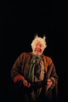 MACBETH by Shakespeare set design: Jeremy Herbert costumes: Laura Hopkins lighting: Rick Fisher director: John Crowley Peter Bayliss (Porter)Queen's Theatre, London W1  03/03/1999