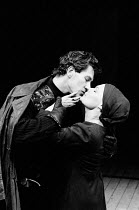 MACBETH   by Shakespeare    design: John Napier   lighting: Leo Leibovici   director: Trevor Nunn Ian McKellen (Macbeth), Judi Dench (Lady Macbeth Royal Shakespeare Company (RSC) / The Other Place, St...