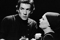 MACBETH   by Shakespeare    design: John Napier   lighting: Leo Leibovici   director: Trevor Nunn ~Ian McKellen (Macbeth), Judi Dench (Lady Macbeth)Royal Shakespeare Company (RSC) / The Other Place, S...