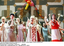 LADY MACBETH OF MTSENSK   by Shostakovich   conductor: Antonio Pappano   director: Richard Jones guests at the wedding of Sergey & Katerina The Royal Opera / Covent Garden   London WC2         30/09/2...