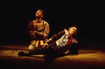 ANTONY AND CLEOPATRA by Shakespeare design: Sue Blane lighting: David Hersey director: John Caird l-r: Peter de Jersey (Eros), Richard Johnson (Antony)Royal Shakespeare Company (RSC), Royal Shakespear...
