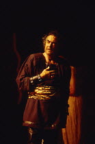 ANTONY AND CLEOPATRA by Shakespeare design: Sue Blane lighting: David Hersey director: John Caird Richard Johnson (Antony)Royal Shakespeare Company (RSC), Royal Shakespeare Theatre, Stratford-upon-Avo...