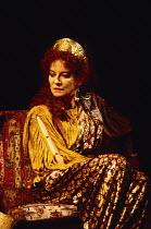 ANTONY AND CLEOPATRA by Shakespeare design: Sue Blane lighting: David Hersey director: John Caird Clare Higgins (Cleopatra)Royal Shakespeare Company (RSC), Royal Shakespeare Theatre, Stratford-upon-Av...