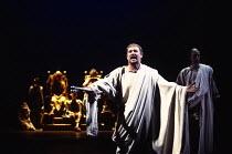 ANTONY AND CLEOPATRA by Shakespeare design: Sue Blane lighting: David Hersey director: John Caird centre: John Nettles (Octavius Caesar)Royal Shakespeare Company (RSC), Royal Shakespeare Theatre, Stra...