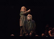 Sophie Bevan (Antigone), Johan Reuter (Oedipe) in OEDIPE by George Enescu opening at the The Royal Opera, Covent Garden, London WC2 on 23/05/2016 libretto: Admond Fleg after Sophocles conductor: Leo H...