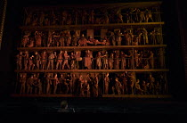 opening tableau, chorus and soloists in OEDIPE by George Enescu opening at the The Royal Opera, Covent Garden, London WC2 on 23/05/2016 libretto: Admond Fleg after Sophocles conductor: Leo Hussain set...