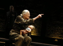 Vanessa Redgrave (Queen Margaret) in RICHARD III by Shakespeare opening at the Almeida Theatre, London N1 on 16/06/2016  set design: Hildegard Bechtler costumes: Jan Morrell lighting: Jon Clark fights...