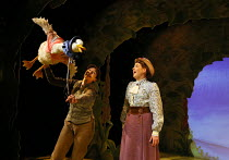 l-r: Grace Eccle (Jemima), Danielle Morris (Beatrix Potter) in WHERE IS PETER RABBIT? opening at the Old Laundry Theatre, Bowness-on Windermere, Cumbria, England on 28/06/2016 music: Steven Edis lyric...