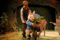 Molly Waters (Peter Rabbit) in WHERE IS PETER RABBIT? opening at the Old Laundry Theatre, Bowness-on Windermere, Cumbria, England on 28/06/2016 music: Steven Edis lyrics: Alan Ayckbourn based on the o...