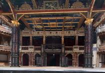 MACBETH by Shakespeare set & lighting design: Ciaran Bagnall costumes: Joan O'Clery director: Iqbal Khan ~stage,set,empty~Shakespeare's Globe (SG), London SE1  23/06/2016                  ~(c) Donald...