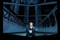 in New York: Marc Labreche (Robert) in NEEDLES AND OPIUM written & directed by Robert Lepage opening at the Barbican Theatre, Barbican Centre, London EC2 on 07/07/2016   an Ex Machina production set d...