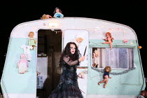Ekaterina Semenchuk (Azucena) in IL TROVATORE by Verdi opening at The Royal Opera, Covent Garden, London WC2 on 02/07/2016        co-production with Oper Frankfurt  conductor: Gianandrea Noseda set &...