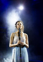'I Don't Know How To Love Him': Anoushka Lucas (Mary) in JESUS CHRIST SUPERSTAR opening at the Open Air Theatre, Regent's Park, London NW1 on 21/07/2016  music: Andrew Lloyd Webber  lyrics: Tim Rice...