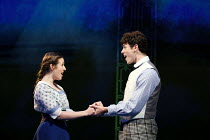 'Long Ago': Devon-Elise Johnson (Ann Pornick), Charlie Stemp (Arthur Kipps) in HALF A SIXPENCE opening at the Chichester Festival Theatre, West Sussex, England on 26/07/2016 based on the H.G.Wells nov...