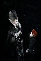 Tim Mead (Oberon), David Evans (Puck) in A MIDSUMMER NIGHT'S DREAM music: Benjamin Britten after Shakespeare opening at Glyndebourne Festival Opera, East Sussex, England on 11/08/2016   conductor: Jak...