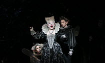 Kathleen Kim (Tytania) with fairies in A MIDSUMMER NIGHT'S DREAM music: Benjamin Britten after Shakespeare opening at Glyndebourne Festival Opera, East Sussex, England on 11/08/2016   conductor: Jakub...