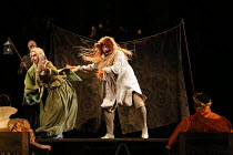 l-r: Anthony Gregory (Flute / Thisbe), Sion Goronwy (Snug / Lion) in A MIDSUMMER NIGHT'S DREAM music: Benjamin Britten after Shakespeare opening at Glyndebourne Festival Opera, East Sussex, England on...