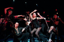 CHICAGO music: John Kander lyrics: Fred Ebb book: Fred Ebb & Bob Fosse design: John Lee Beatty choreography: Ann Reinking after Fosse director: Walter Bobbie   centre: Ute Lemper (Velma Kelly) Adelphi...