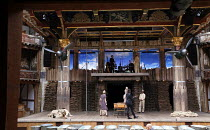 946: THE AMAZING STORY OF ADOLPHUS TIPS adapted by Michael Morpurgo from his novel with Emma Rice design: Lez Brotherston lighting: Malcolm Rippeth choreography: Etta Murfitt & Emma Rice director: Emm...