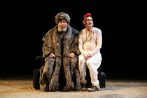 Act 1, scene 5: Antony Sher (King Lear), Graham Turner (Fool) in KING LEAR by Shakespeare opening at the Royal Shakespeare Theatre, Stratford-upon-Avon, England on 01/09/2016 ~a Royal Shakespeare Comp...