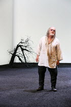 Act 4, scene 6: David Troughton (Gloucester) in KING LEAR by Shakespeare opening at the Royal Shakespeare Theatre, Stratford-upon-Avon, England on 01/09/2016 ~a Royal Shakespeare Company (RSC) product...