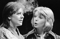 THE PHILANTHROPIST by Christopher Hampton design: John Gunter director: Robert Kidd l-r: Penelope Wilton (Araminta), Jane Asher (Celia)Royal Court Theatre, London SW1  03/08/1970         Donald Cooper...