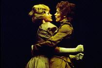 HEDDA GABLER by Henrik Ibsen design: John Napier lighting: Andy Phillips director: Trevor Nunn l-r: Jennie Linden (Mrs. Elvsted), Glenda Jackson (Hedda Tesman) Royal Shakespeare Company (RSC) / Aldwyc...