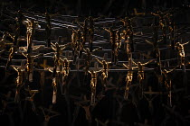 set detail in NORMA (music by Vincenzo Bellini) opening at The Royal Opera, Covent Garden, London WC2 on 12/09/2016    libretto: Felice Romani conductor: Antonio Pappano et design: Alfons Flores cost...