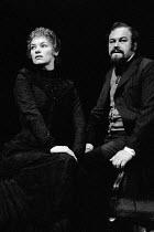 HEDDA GABLER by Henrik Ibsen design: John Napier lighting: Andy Phillips director: Trevor Nunn ~Glenda Jackson (Hedda Tesman), Timothy West (Judge Brack) ~Royal Shakespeare Company (RSC) / Aldwych The...