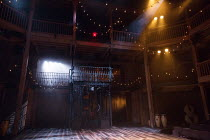 THE ROVER by Aphra Behn design: Lez Brotherston lighting: Tim Lutkin fights director: Terry King movement: Nicola Treherne director: Loveday Ingram stage,set,full,empty,balcony,South America,lightsRoy...