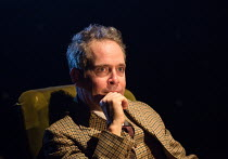 Tom Hollander (Henry Carr) in TRAVESTIES by Tom Stoppard opening at the Menier Chocolate Factory, London SE1 on 04/10/2016   design: Tim Hatley lighting: Neil Austin director: Patrick Marber   � Donal...