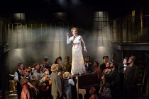 Anita Louise Combe (Mother) and company in RAGTIME opening at the Charing Cross Theatre, London WC2 on 17/10/2016 based on the novel by E.L Doctorow music: Stephen Flaherty book: Terrence McNally lyri...