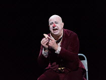 Martin Winkler (Platon Kuzmitch Kovalov, re-united with his nose) in THE NOSE by Shostakovich opening at the The Royal Opera, Covent Garden, London WC2 on 20/10/2016 ~music: Dmitry Shostakovich libret...