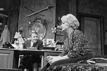 FILL THE STAGE WITH HAPPY HOURS by Charles Wood design: Patrick Robertson director: Patrick Dromgoole   Alfred Burke (Albert Harris), Barbara Jefford (Maggie Harris)  Nottingham Playhouse, Nottingha...