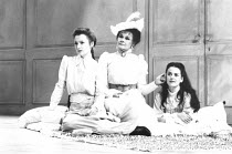 THE CHERRY ORCHARD by Chekhov design: Paul Farnsworth director: Sam Mendes ~l-r: Lesley Manville (Varya), Judi Dench (Ranyevskaya), Miranda Foster (Anya)~LO-RES FOR SELECTION PURPOSES ONLY: HI-RES OF...