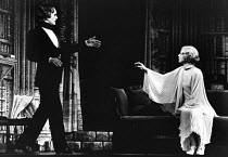 DRACULA by Hamilton Deane & John L Balderston adapted from the novel by Bram Stoker design: Edward Gorey director: Dennis Ross   Terence Stamp (Dracula), Judy Rosalind Ayres (Lucy)) LO-RES FOR REFEREN...