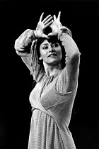 THE DUCHESS OF MALFI by John Webster ~Dinah Stabb~LO-RES FOR REFERENCE AND SELECTION PURPOSES ONLY: HI-RES OF THIS AND OTHER IMAGES AVAILABLE TO ORDER~Freehold / Young Vic, London SE1 06/10/1970~(c) D...