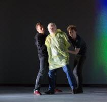 centre: Karl Johnson (Gloucester) in KING LEAR by Shakespeare opening at the Old Vic, London SE1 on 04/11 2016 design: Jean Kalman & Deborah Warner associate set design: Justin Nardella costumes: Zeb...