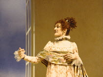 ARCADIA   by Tom Stoppard   design: Mark Thompson   lighting: Paul Pyant   director: Trevor Nunn ~~Harriet Walter (Lady Croom)~Lyttelton Theatre, National Theatre, London SE1 13/04/1993~ Donald Cooper...
