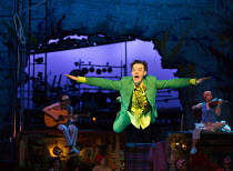 Paul Hilton (Peter Pan) in PETER PAN by J.M.Barrie opening at the Olivier Theatre, National Theatre (NT), London SE1 on 02/12/2016 a co-production with Bristol Old Vic / devised by the company dramatu...