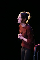 FLEABAG written and performed by Phoebe Waller-Bridge opening at the Soho Theatre, London W1 on 06/12/2016     design: Holly Pigott lighting: Elliot Griggs  director: Vicky Jones...